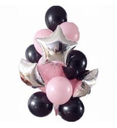 25 гелиевых шаров  «Приятный сюрприз»