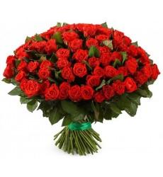 Букет из 101 розы Эль Торо «Испанские страсти»