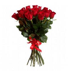 Букет из 15 красных роз «Быть любимой»