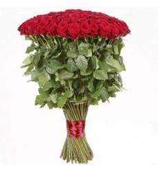 Букет  из 101 розы 90 см. «Стрела Купидона»
