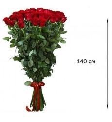 Букет  из 25 роз 140 см. «Изящный сад»
