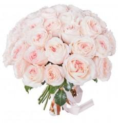 Букет из 51 пионовидной розы Mayras Bridal «Мир любви»