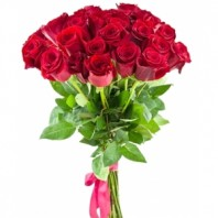 Букет  из 31 розы 90 см. «Цветущая юность»