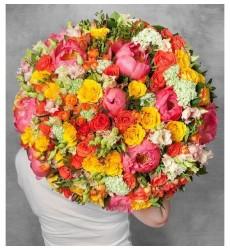 Букет из 39 роз «Аурелия»