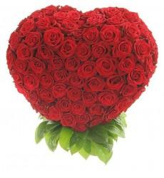Корзина цветов с 201 розой Гран При «Сердце мечтателя»