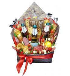 «Мужской подарочный продуктовый набор 4»
