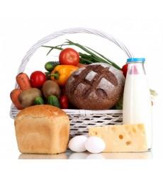 Подарочная корзина с продуктами «Весенний пикник»