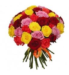Букет из 51 розы «Де Париж»