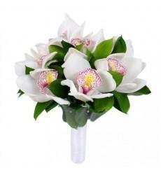 Букет невесты из 9 орхидей «Незабываемая»