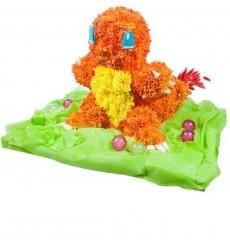 Цветочная композиция из 35 кустовых хризантем и декора «Чармандер»